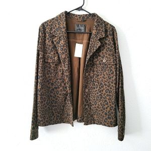 Sanctuary Clothing Leopard Spotted Jacket